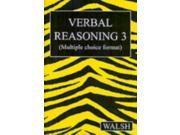 Verbal Reasoning 3: Bk. 3 (Paperback)
