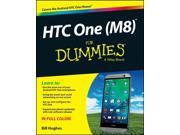 HTC One (M8) for Dummies For Dummies Hughes, Bill