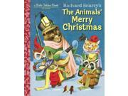 Richard Scarry's the Animals' Merry Christmas Little Golden Books 9SIA9JS5264176