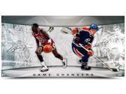 "MICHAEL JORDAN & WAYNE GRETZKY Signed ""Game Changers"" 36 x 18 Photo LE 150 UDA."