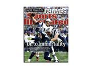 TOM BRADY Hand Signed 2015 Sports Illustrated Cover 16 x 20 TriStar.