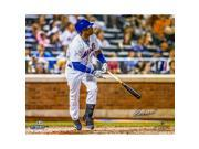 YOENIS CESPEDES Signed Watching The Ball Leave The Park 16X20 Photo LE of 52 Steiner.