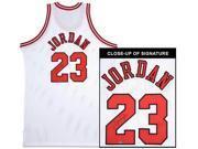 MICHAEL JORDAN Signed Bulls M&N Authentic Jersey UDA 1