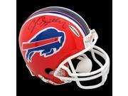 CJ Spiller Autographed Buffalo Bills Mini Helmet