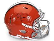 JOHNNY MANZIEL Signed Cleveland Browns Authentic Speed Helmet PANINI 9SIA9K23GJ4048