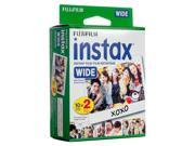 Fujifilm Instax Wide Film , 20 exp.