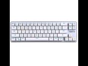 Magicforce ( magicforce) 68Key Mechanical Keyboard Black Switch White Silver