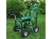 300 Ft Garden Water Hose Reel Cart Outdoor Heavy Duty Yard Water Planting
