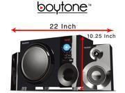 Boytone BT-210FD Ultra Wireless Bluetooth Speaker W/ FM radi