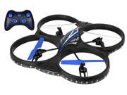 Aerodrone 4-Channel 2.4 Ghz Wireless Indoor/Outdoor Quadcopter, Blue by Tech Toyz