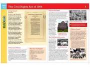 Flashcharts Civil Rights Act of 1964, Grades 5 - 6 Flashcharts LAM CRDS Paige, Joy
