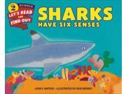 Sharks Have Six Senses Let's-Read-and-Find-Out Science Books