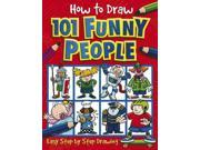 How to Draw 101 Funny People (How to Draw) 9SIV0UN4GB1791