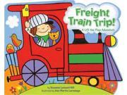 Freight Train Trip! Publisher: Simon & Schuster Merchandise & Publish Date: 9/8/2009 Language: ENGLISH Pages: 12 Weight: 1.26 ISBN-13: 9781416978336 Dewey: [E]