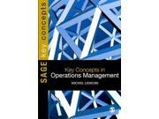 "Key Concepts in Operations Management Sage Key Concepts Binding: Paperback Publisher: Sage Pubns Publish Date: 2010/09/14 Synopsis: ""Over 50 concept entries include: Operations Strategy, Managing Innovation, Process Modeling, New Product Development, Forecasting, Planning and Control, Supply Chain Management, Risk Management and many more.""--Publisher"