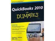 Quickbooks 2010 for Dummies For Dummies 9SIV0UN4G72615
