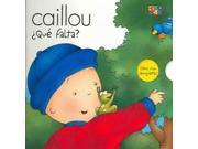 Caillou Que Falta? (spanish) (caillou Escondite (peek-a-boo))