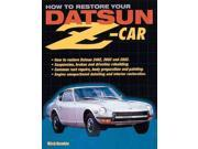 How to Restore Your Datsun Z-Car 9SIA9UT3XY4441