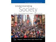 Understanding Society The Cengage Sociology Reader Series 5