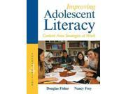 Improving Adolescent Literacy: Content Area Strategies at Work 9SIV0UN4GY1238
