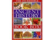 The Incredible Ancient History Book Box SLP Binding: Paperback Publisher: Armadillo Books Publish Date: 2012/10/16 Synopsis: Explores the culture and beliefs of ancient Egypt, the Roman Empire, ancient Greece, the Incas, Aztecs, and Mayas, the ancient Celts, Mesopotamia, and Japan, with projects that allow readers to recreate some of their history and artifacts