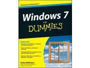Windows 7 for Dummies For Dummies Rathbone, Andy