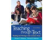 Teaching through Text: Reading and Writing in the Content Areas 9SIV0UN4FF8012
