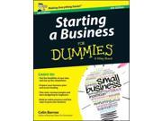 Starting a Business for Dummies (For Dummies)