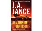 Remains of Innocence (Joanna Brady Mysteries) 9SIV0UN4FH9688