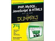PHP, MySQL, JavaScript & HTML5 All-in-One For Dummies For Dummies (Computer/Tech) 9SIV0UN4G24488