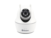 Swann Pan and Tilt Indoor Wi-Fi Network Surveillance Camera White SWWHD-PTCAM-US