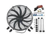 "American Volt Single 16 Inch Fan & 3/8"""" NPT Thread-In Thermostat Kit"" 9SIA9WC4BX2725"