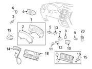 Ford OEM Headlight Switch #4L3Z11654CAE