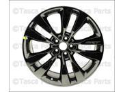 """OEM 20"""" X 9"""" Black Vapor Chrome Aluminum Wheel 2013-14 Dodge Charger Challenger"""