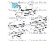 OEM Mopar Right Side Rh Rear Fascia Inner Bracket 2014 Jeep Cherokee