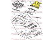 OEM Mopar Rear Floor Pan Chrysler 300 Dodge Charger Mangum Challenger #5065311AB