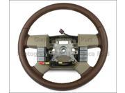 Genuine Factory OEM King Ranch Tan Leather Steering Wheel 2006-08 Ford F150