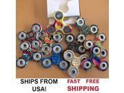 8 PACK - Galaxy Camo Tie Dye Graphic Print Swirls Fidget Spinner Tri Spinner Hand Spinner Figit Spinner Finger Spinner Ceramic Ball Desk Toy EDC Kids Adults Anx