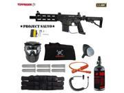Tippmann U.S. Army Project Salvo Corporal HPA Paintball Gun Package Black