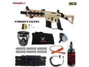 Tippmann U.S. Army Project Salvo Corporal HPA Paintball Gun Package Tan