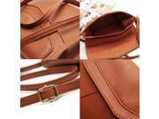 PU Leather Women Messenger Bag Small Diagonal All Match Single Shoulder Bag