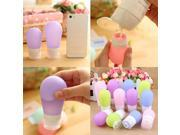 Portable Travel Silicone Bottle Shampoo Shower Lotion Sub-bottling Squeeze 9SIAA0C4TA1432