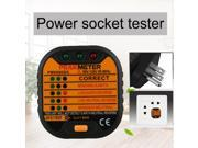 PM6860BG GFCI RCD Test Function Sockets Detector Tester With Leakage tester