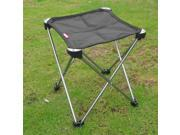 7001 Aerial Aluminum Oxford Cloth Folding Camping Hunting Fishing Picnic Chair black thumbnail