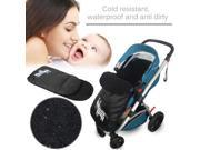 Windproof Cold-Proof Baby Stroller Sleeping Bag Winter Autumn Cover Mat black 9SIAA0C7AD7805
