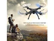 X5SW-1 6-Axles Gyro RC Quadcopter 2.4G 4 CH Drone With 0.3MP WiFi FPV Camera black