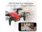 S9W WIFI FPV 0.3MP Camera Mini Foldable Drone Atitude Hold Mode One-key Return 360 Degree Flip RC Quadcopter RTF