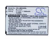 Cameron Sino 1500mAh / 5.55Wh Replacement Battery for LG Leon TV Dual SIM
