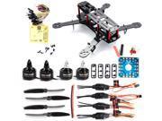 XCSOURCE® 4-Axis 250 3K Carbon Fiber FPV Quadcopter Kit Combo CC3D Motor 12A ESC RC005