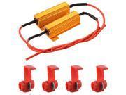 XCSOURCE®  2pcs 50W 6ohm LED Load Resistors for LED Turn Signal Light or LED License Plate Light or DRL Vehicle 12V MA471